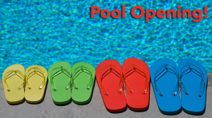 Pool is Opening